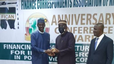 Photo of FICAN @30: Finance Journalists Honour NDIC MD/CE